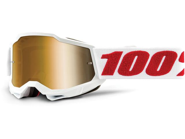 100% Accuri Anti-Fog Goggles Gen2 Youth, blanco